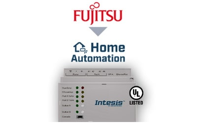 Intesis Fujitsu VRF systems to Home Automation Interface System