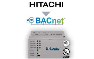 Intesis Hitachi VRF systems to BACnet IP/MSTP Interface