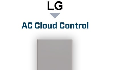 Intesis LG VRF systems to AC Cloud Control (WiFi) Interface for professional HVAC control and monitoring