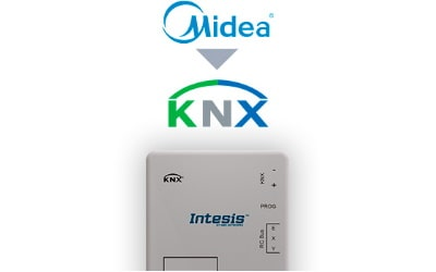 Intesis Midea Commercial & VRF systems to KNX Interface