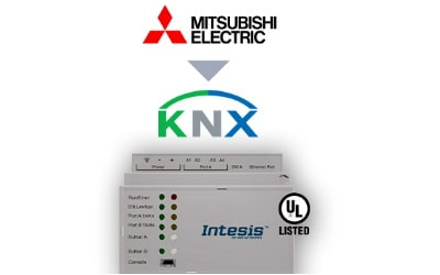 Intesis Mitsubishi Electric City Multi systems to KNX Interface