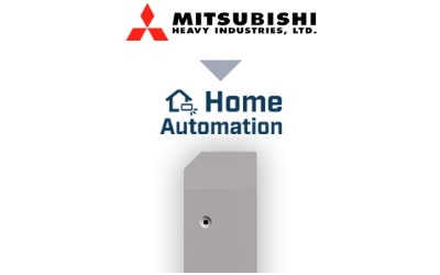 Intesis Mitsubishi Heavy Industries Domestic units to Home Automation Interface