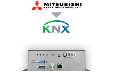 Intesis Mitsubishi Heavy Industries VRF systems to KNX Interface