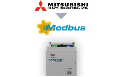 Intesis Mitsubishi Heavy Industries FD and VRF systems to Modbus RTU Interface