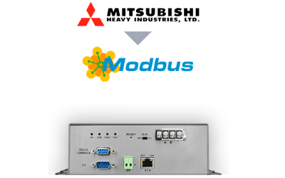 Intesis Mitsubishi Heavy Industries VRF systems to Modbus TCP/RTU Interface