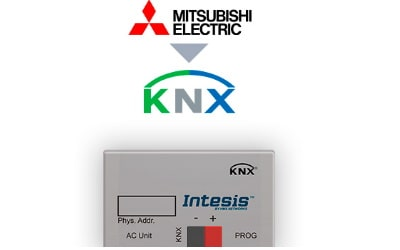 Intesis Mitsubishi Electric Domestic, Mr.Slim and City Multi to KNX Interface