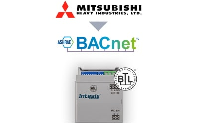 Intesis Mitsubishi Heavy Industries FD and VRF systems to BACnet MSTP Interface