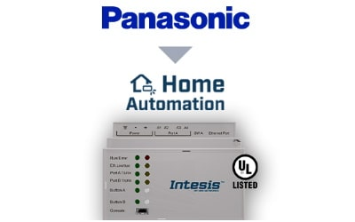 Intesis Panasonic ECOi, ECOg and PACi systems to Home Automation Interface