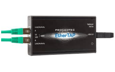 Procentec EtherTAP 1G: Analytic tool for PROFINET traffic