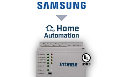 Intesis Samsung NASA VRF systems to Home Automation Interface