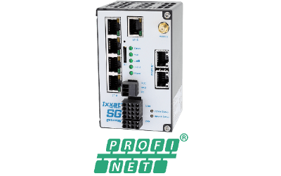Ixxat SG-gateway with 4-Port Switch and PROFINET