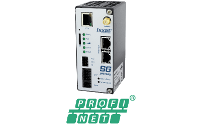 Ixxat SG-gateway with PROFINET