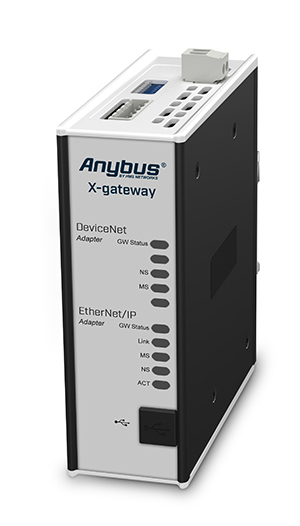 Anybus X-gateway: DeviceNet Scanner – EtherNet/IP Adapter (CIP Routing)